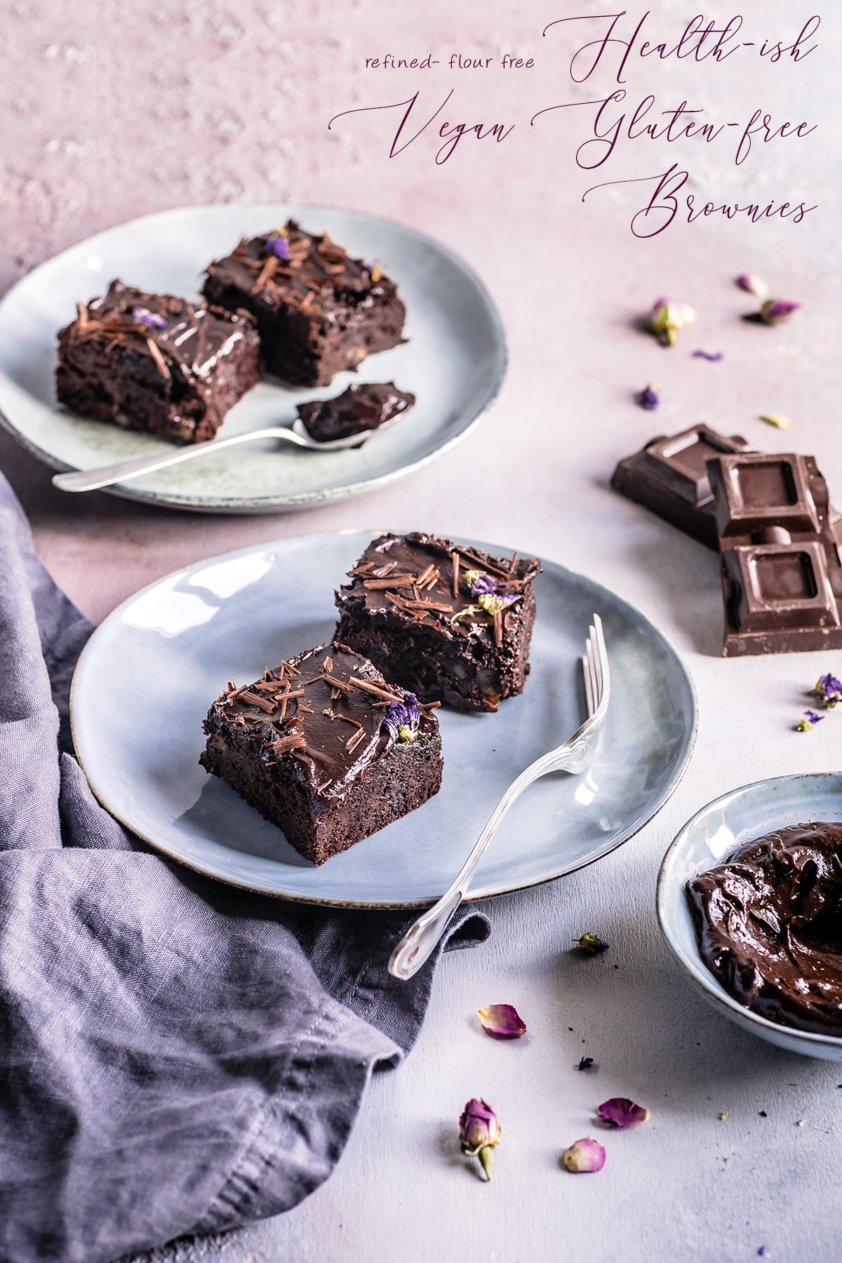 healthy VEGAN GLUTENFREE BROWNIE recipe with espresso coffee and coconut milk ricetta BROWNIES VEGAN SENZA GLUTINE facili light sani senza farine raffinate senza zuccheri raffinati