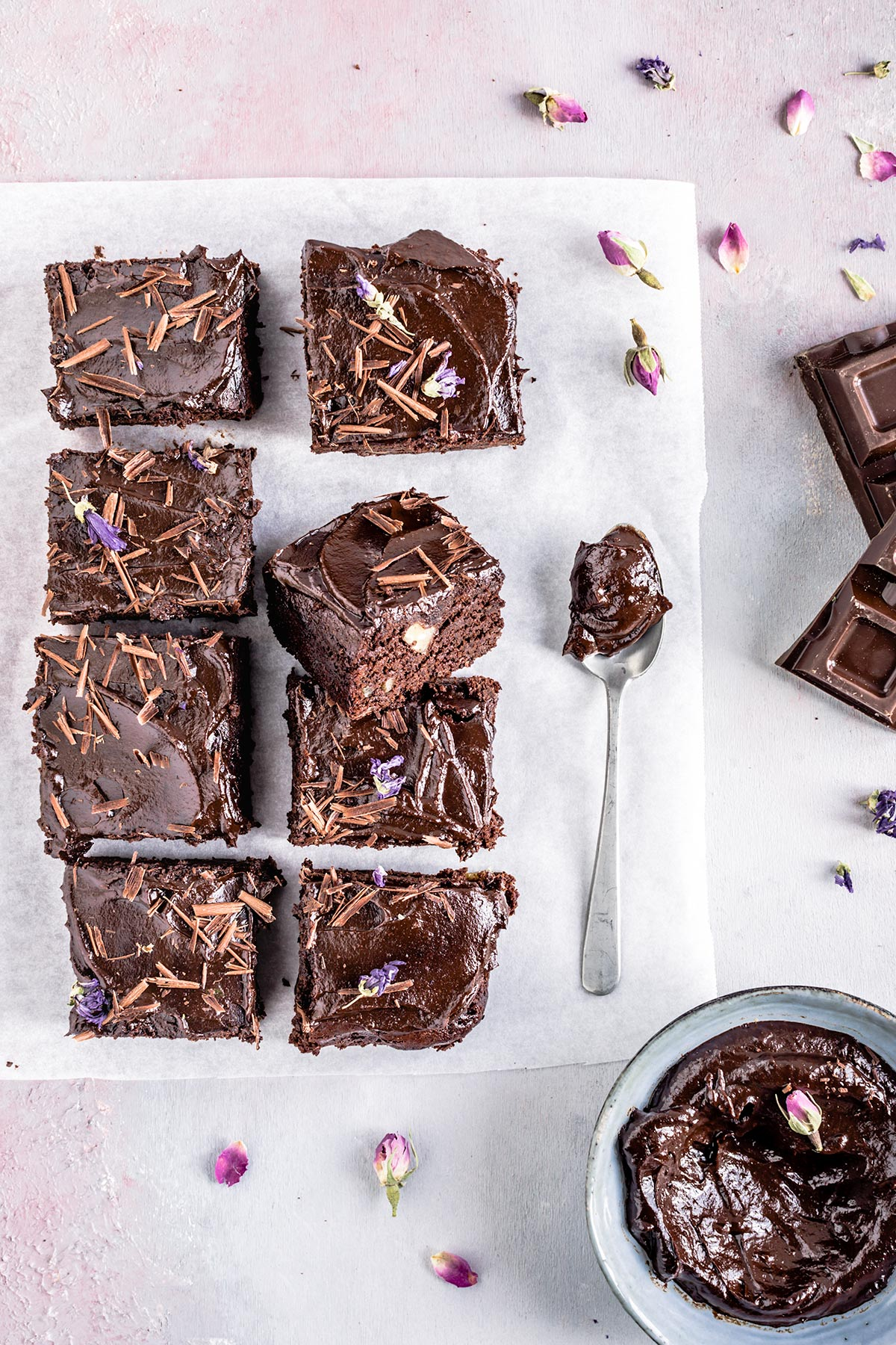 simple healthy VEGAN GLUTENFREE BROWNIES recipe with espresso coffee and coconut milk ricetta BROWNIES VEGAN SENZA GLUTINE facili light sani senza farine raffinate senza zuccheri raffinati