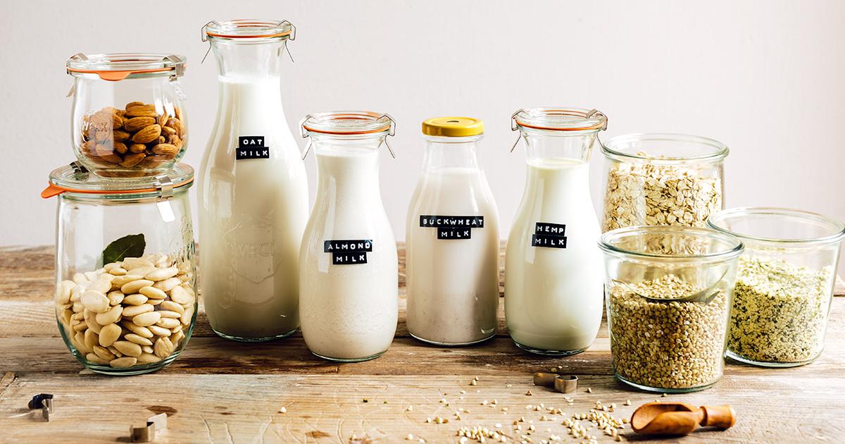 Come preparare il LATTE VEGETALE FATTO IN CASA con estrattore o frullatore Mini guida How to make dairy free milk guide vegan fb