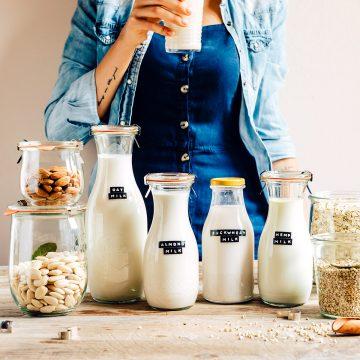 come preparare il LATTE VEGETALE FATTO IN CASA con estrattore o frullatore senza lattosio vegan How to make dairy free milk guide vegan with slow juicer