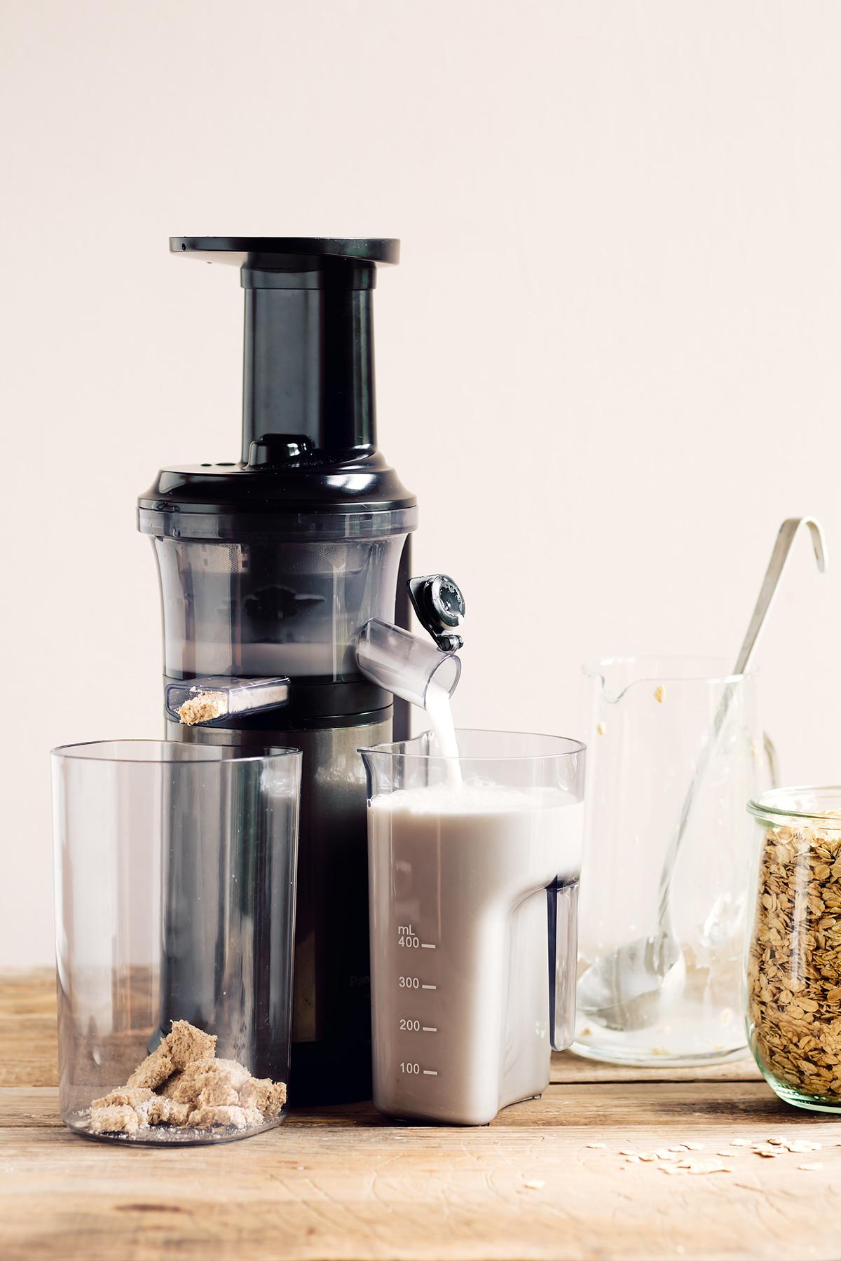 how to make homemade OAT MILK recipe vegan glutenfree nutfree come preparare il latte di avena fatto in casa senza glutine senza lattosio