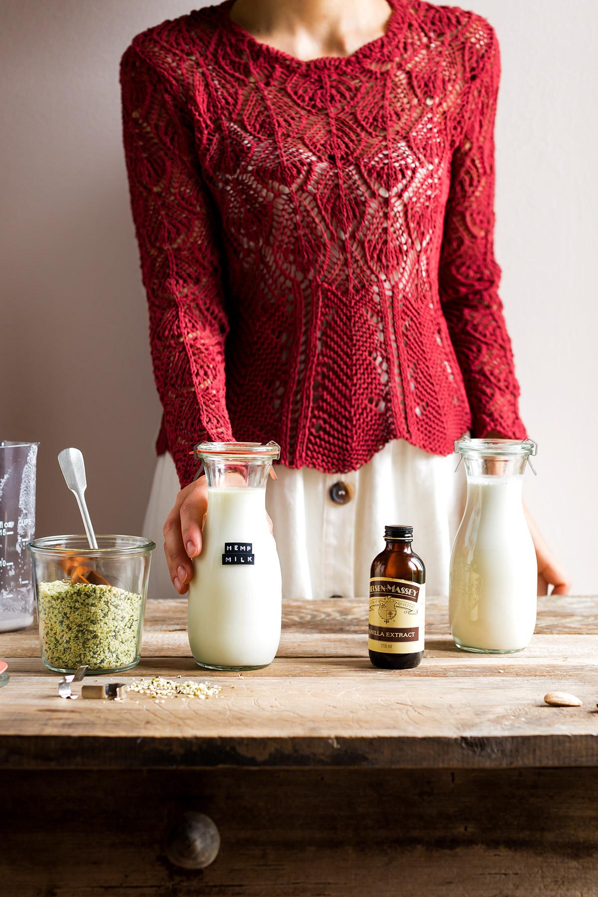 vegan glutenfree HEMP MILK recipe dairyfree come fare il LATTE DI CANAPA fatto in casa ricetta facile veloce 2 ingredienti ricco di proteine senza glutine senza lattosio