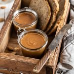 Homemade activated ALMOND BUTTER recipe breakfast idea #vegan ricetta BURRO di MANDORLE attivate disidratate fatto in casa idea colazione