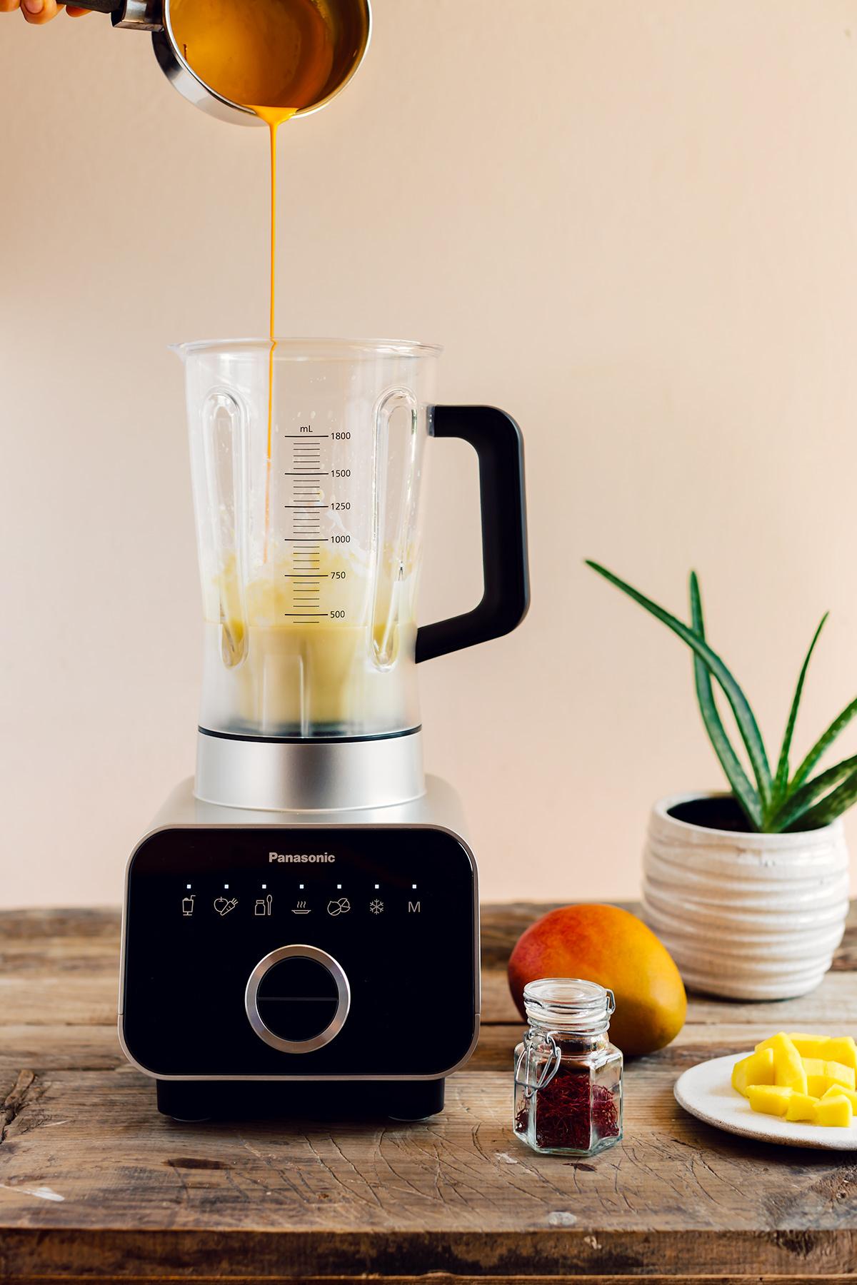 How to make VEGAN COCONUT MANGO SAFFRON ICECREAM recipe paleo come fare il GELATO COCCO e MANGO allo ZAFFERANO senza gelatiera 4 ingredienti paleo Vegan senza lattosio