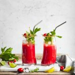 NON-ALCOHOLIC BLOODY MARY healthy Vegan Water Kefir Virgin Mary recipe #cocktail ricetta Bloody Mary Analcolico al Kefir d acqua per brunch e festa sano rinfrescante succo di pomodoro #healthy cocktail