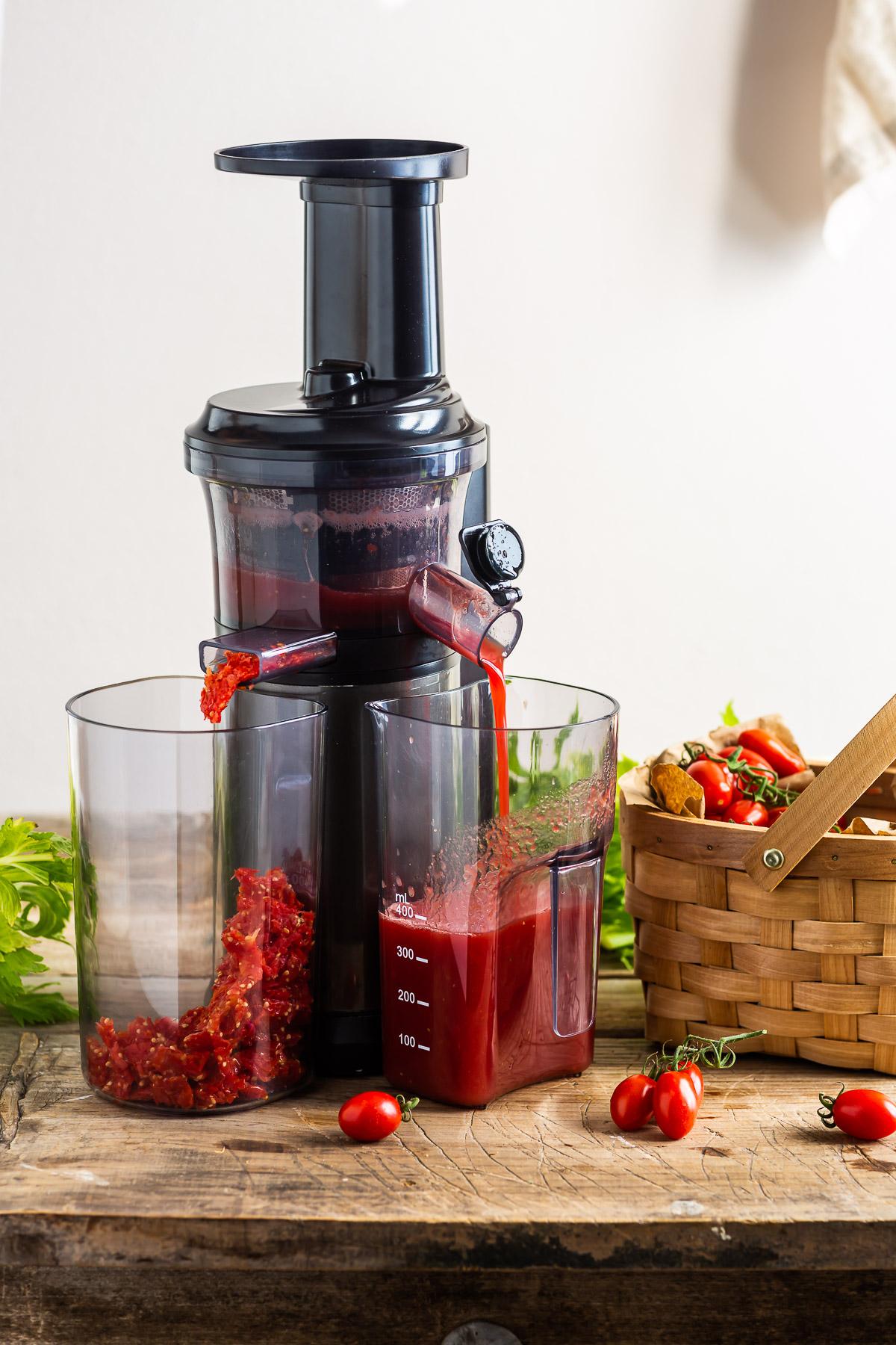ricetta Bloody Mary Analcolico al Kefir d acqua per brunch e festa sano rinfrescante succo di pomodoro #healthy cocktail Vegan Water Kefir Virgin Mary recipe #cocktail