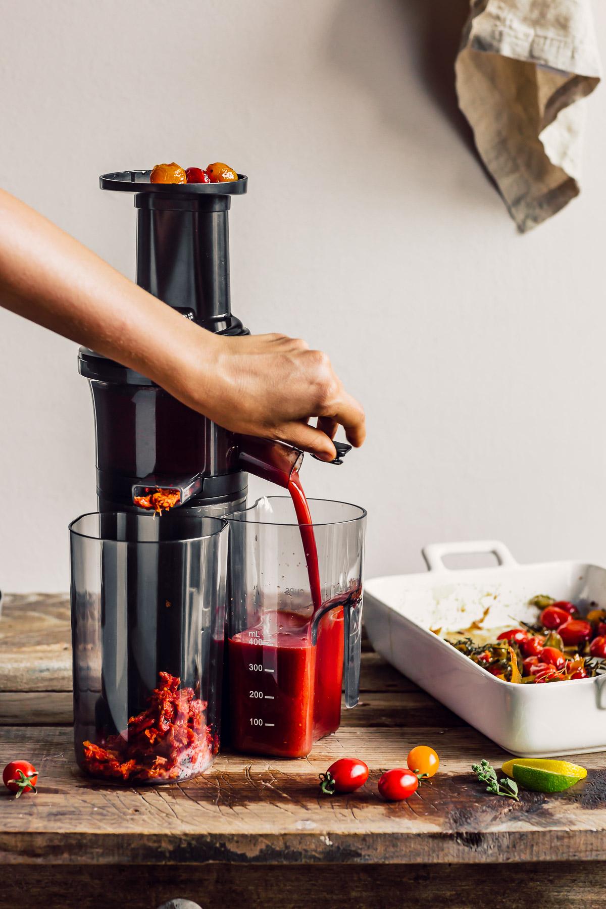 ricetta SALSA di POMODORINI ARROSTITI passata di pomodorini confit vegan ROASTED CHERRY TOMATO SAUCE tomato suop recipe
