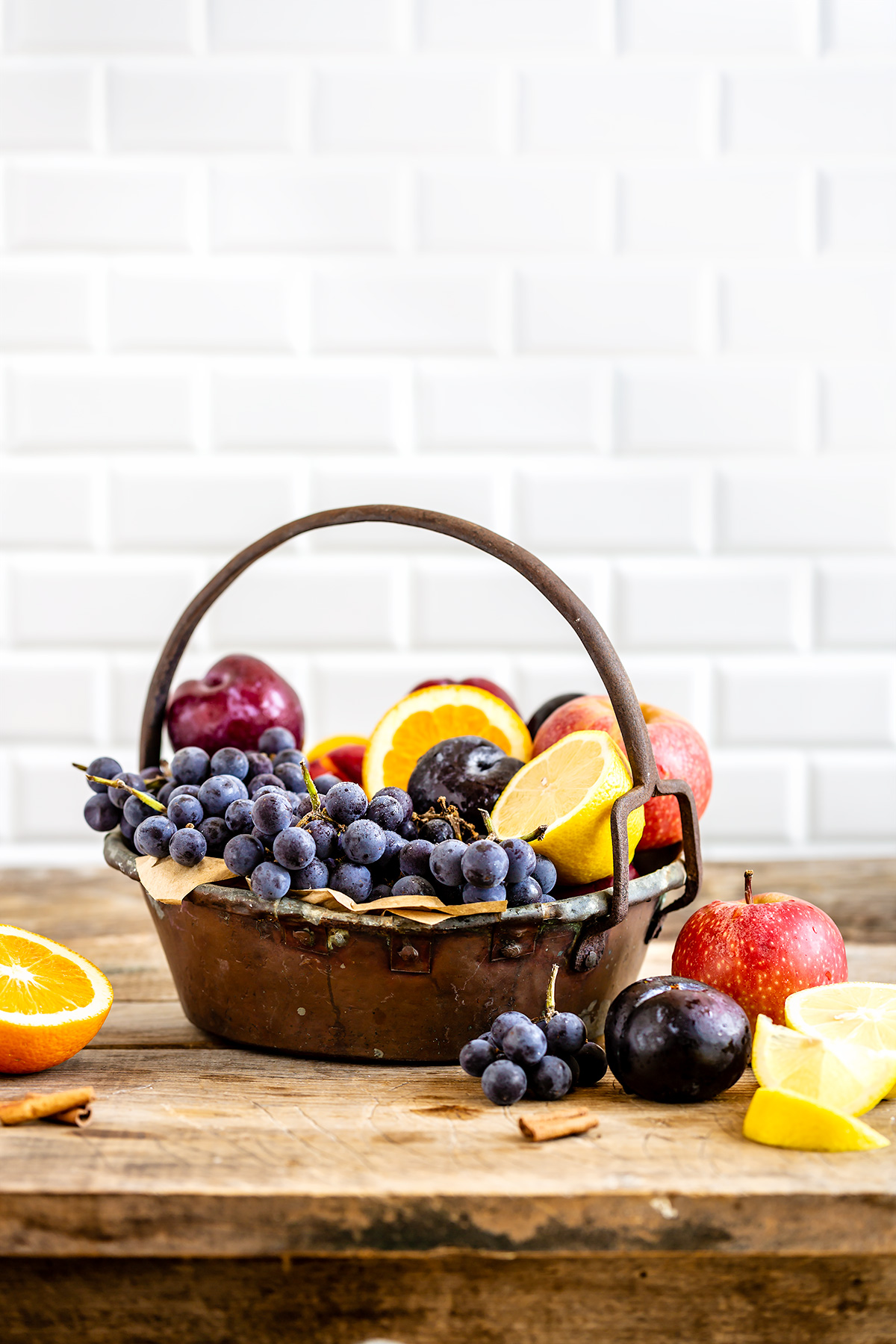 ricetta SANGRIA analcolica al KOMBUCHA facile sana healthy simple non alcoholic kombucha SANGRIA vegan recipe