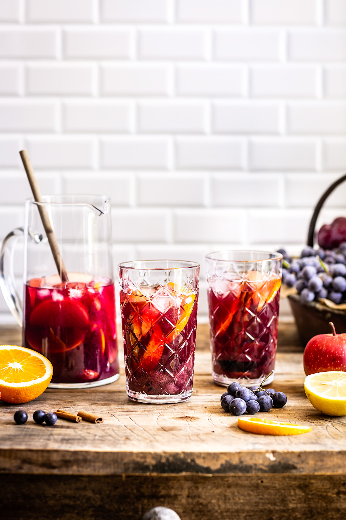 Simple HEALTHY non alcoholic KOMBUCHA SANGRIA recipe #vegan ricetta SANGRIA analcolica al KOMBUCHA facile light sansa