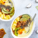 SMOOTHIE BOWL COCCO e ANANAS  | PIÑA COLADA SMOOTHIE BOWL
