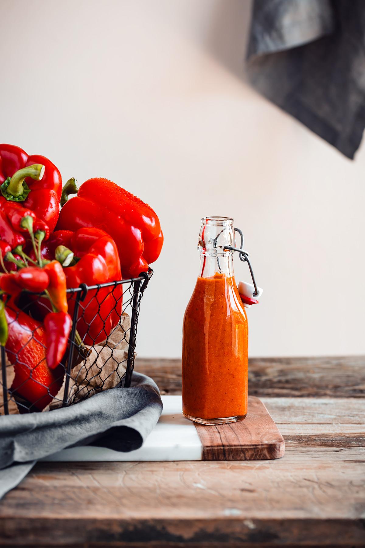ricetta pasta conSALSA ai PEPERONI arrostiti creamy vegan ROASTED RED PEPPER PASTA SAUCE recipe