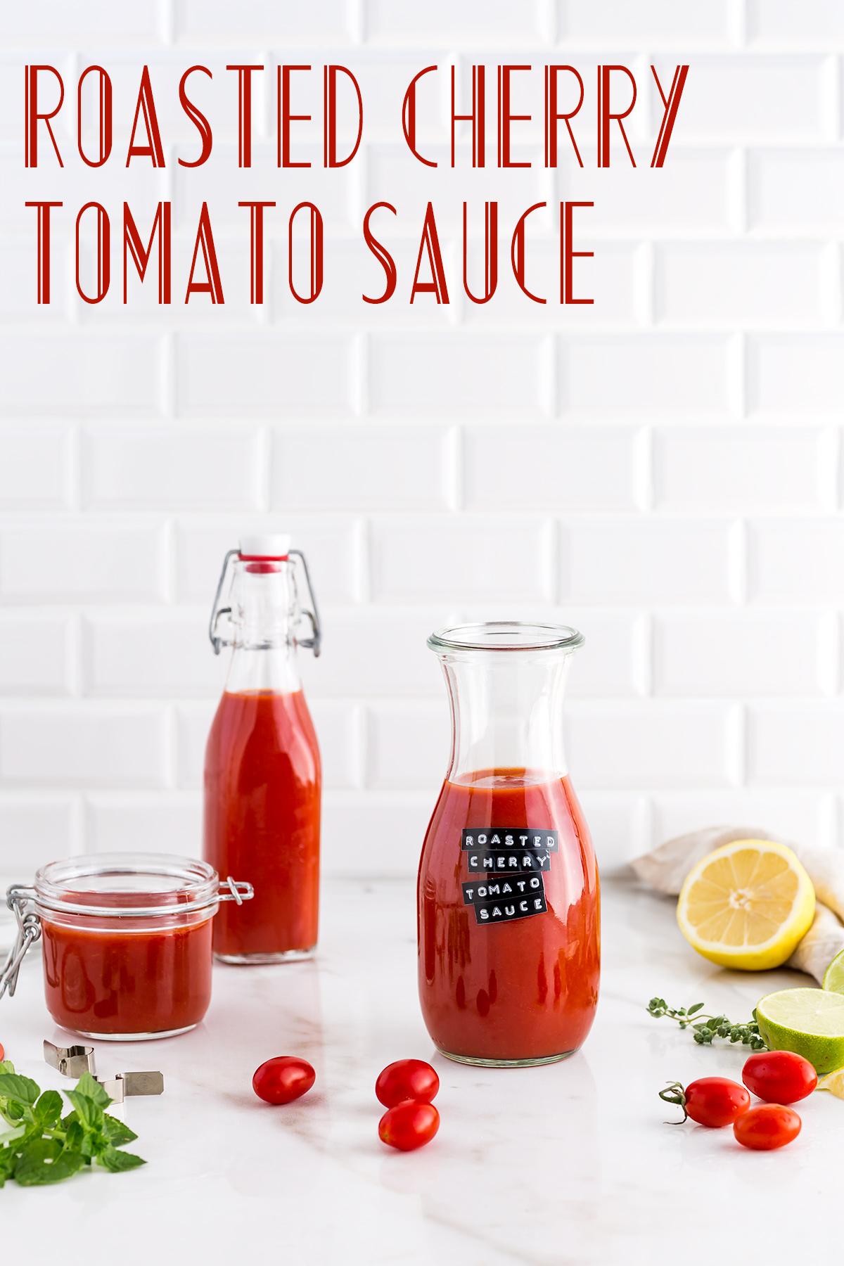 #vegan ROASTED CHERRY TOMATO SAUCE vegan tomato suop recipe ricetta SALSA di POMODORINI ARROSTITI salsa ai pomodorini confit