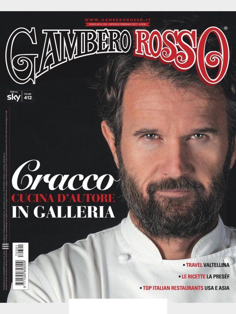 Beauty Food Blog Gambero Rosso copertina Cracco