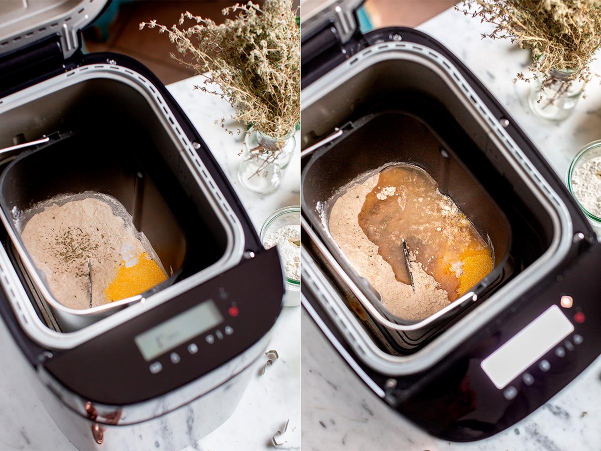 VEGAN MUSHROOM PUMPKIN GALETTE with kale pesto ricetta TORTA SALATA zucca e funghi vegan di farro integrale e pesto