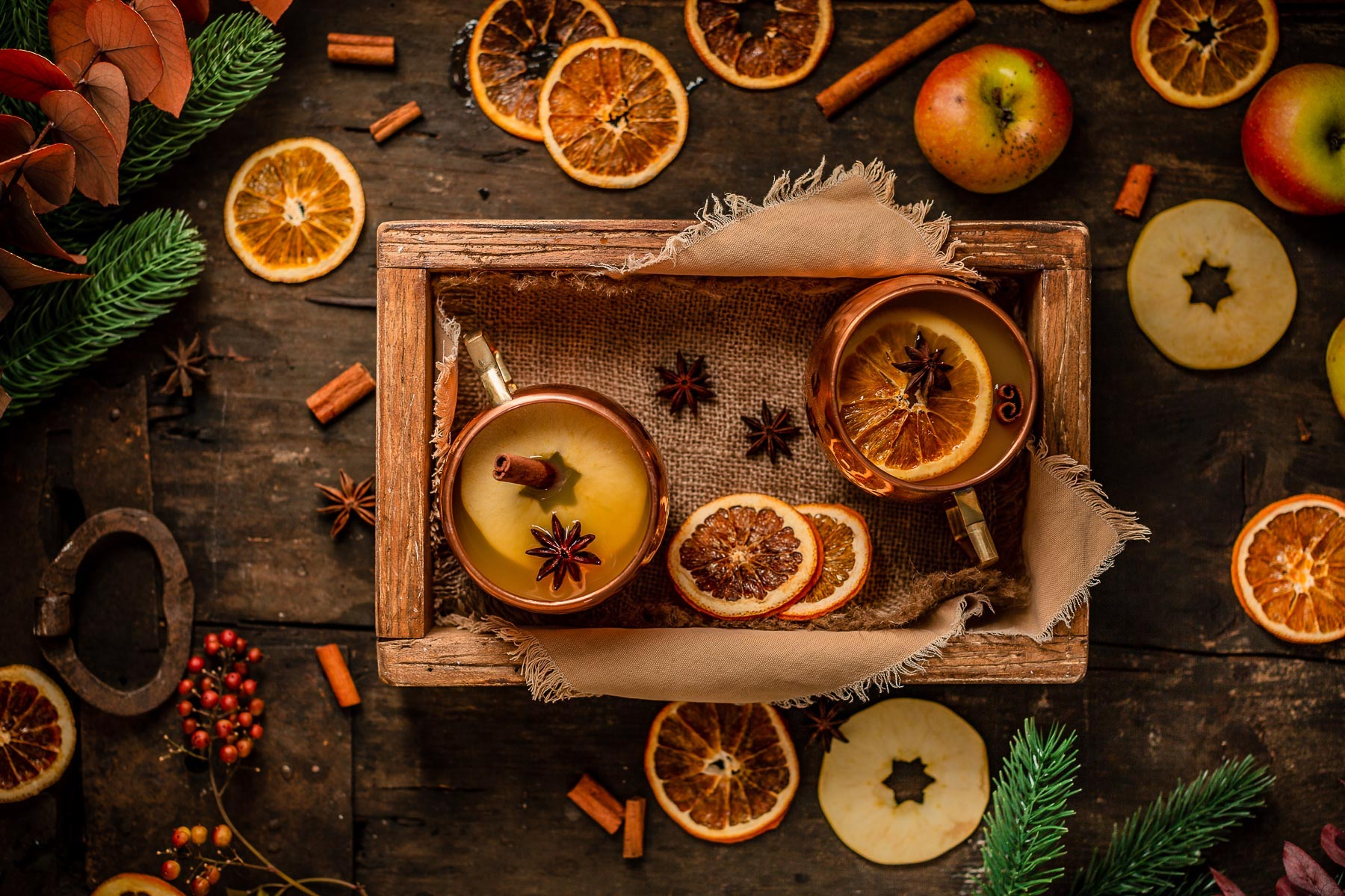 Ricetta Brulè di mele fatto in casa analcolico sano Apfelglühwein Apple mulled wine recipe #healthy Natale