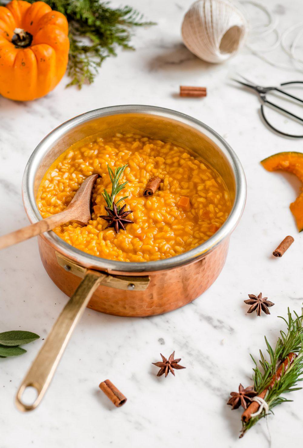 RISOTTO alla ZUCCA VEGAN Senza Glutine | ITALIAN VEGAN PUMPKIN RISOTTO gluten-free