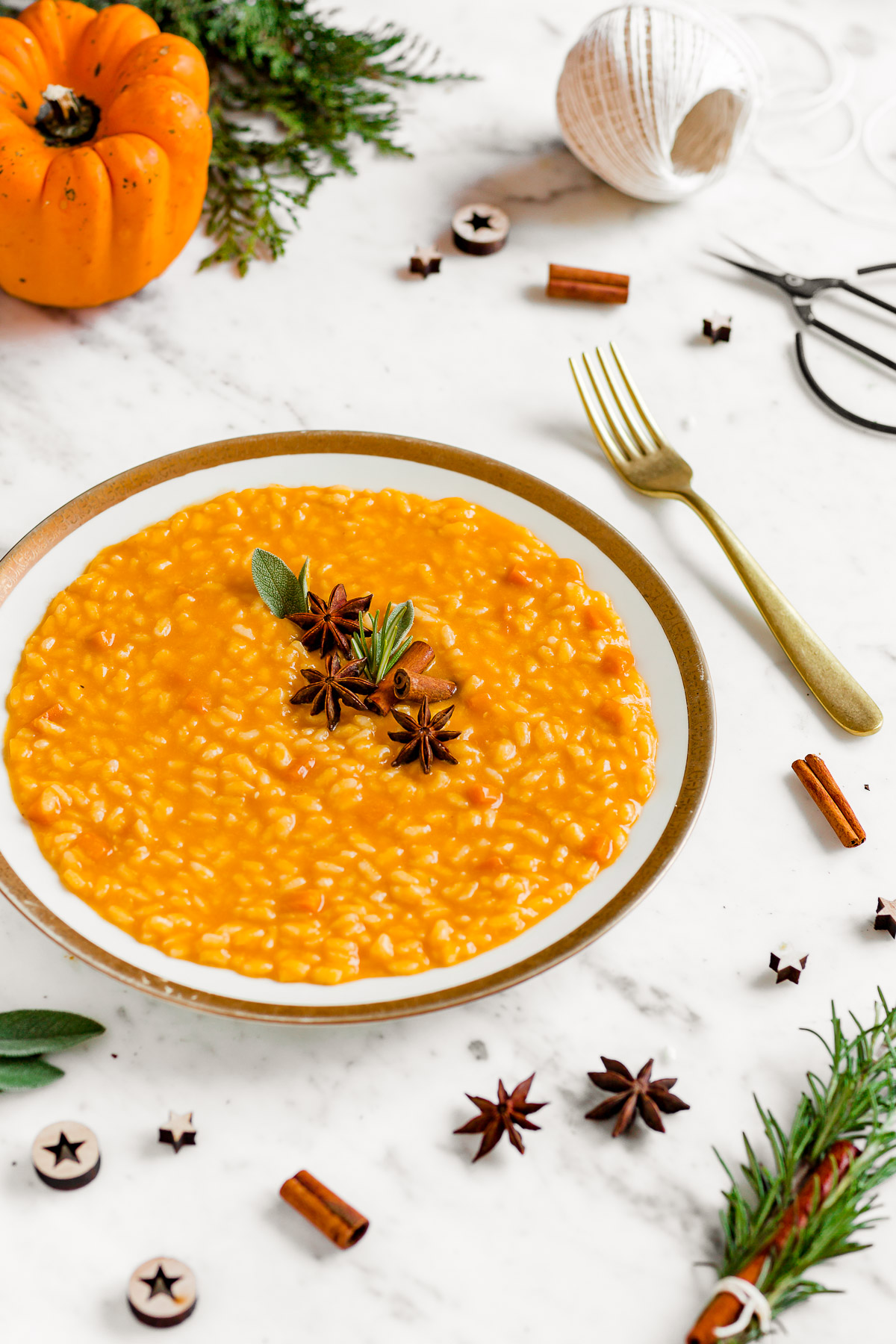 Ricetta RISOTTO alla ZUCCA VEGAN senza burro senza glutine cremoso light | Italian Creamy VEGAN PUMPKIN RISOTTO Recipe gluten-free #healthy #vegan #risotto #pumpkin