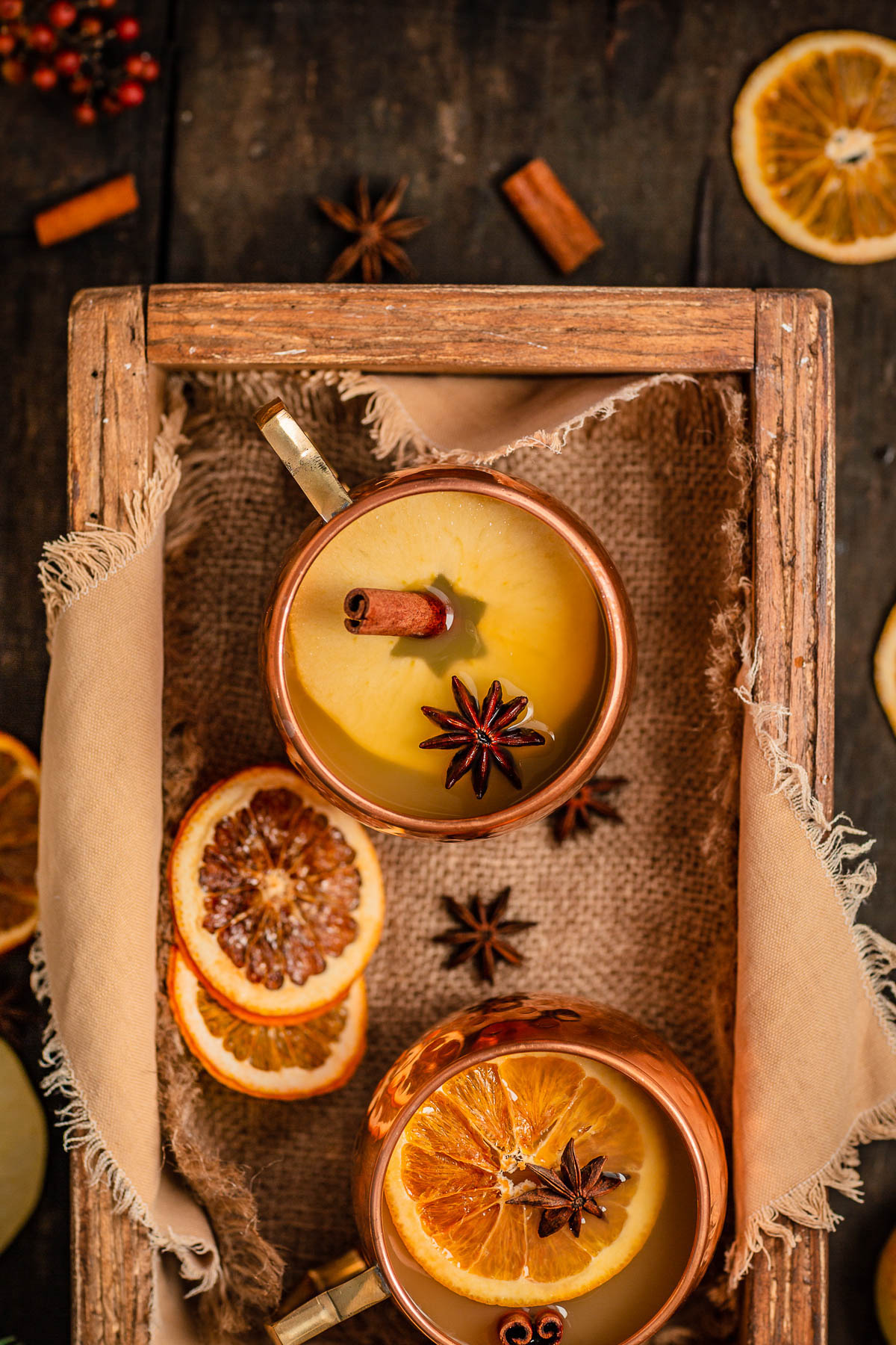 ricetta brulè di mele fatto in casa analcolico senza zucchero Mercatini di Natale Christmas sugar free APPLE MULLED WINE recipe Apfelglühwein #vegan
