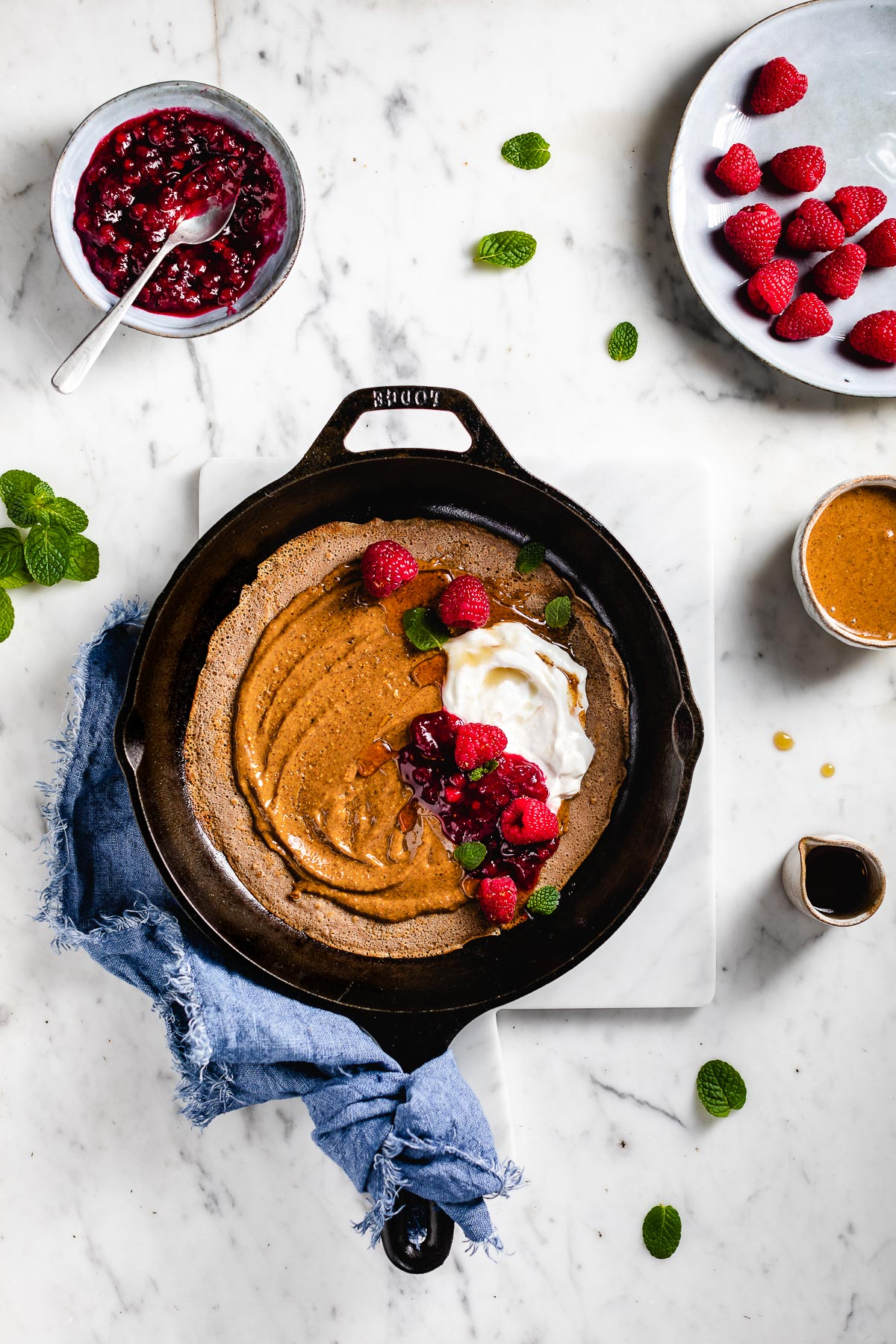 Ricetta CREPES di FARINA di CASTAGNE VEGAN senza glutine Vegan Gluten-free Chestnut Crepes recipe #healthy #crepes #photography