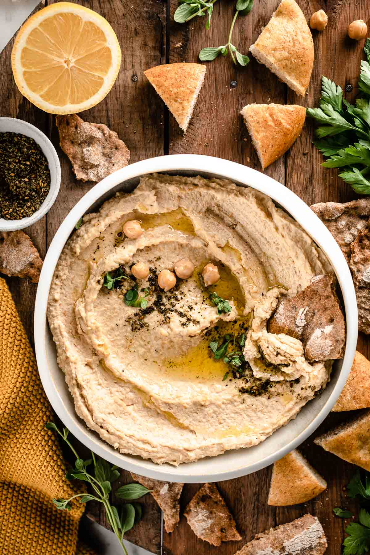 how to make the best creamy hummus recipe with tahini zaatar ricetta hummus di ceci originale cremosa con tahina