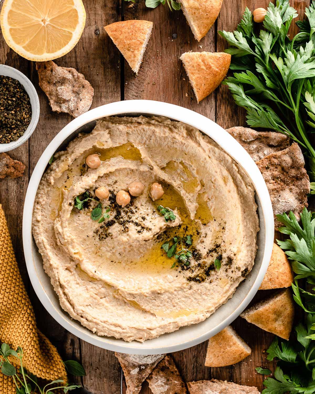 ricetta hummus di ceci ricetta originale cremoso how to make the best hummus recipe creamy #vegan #hummus