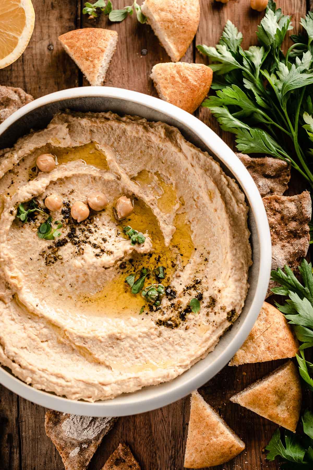 ricetta hummus di ceci ricetta originale how to make the best hummus recipe with tahini zaatarjpg
