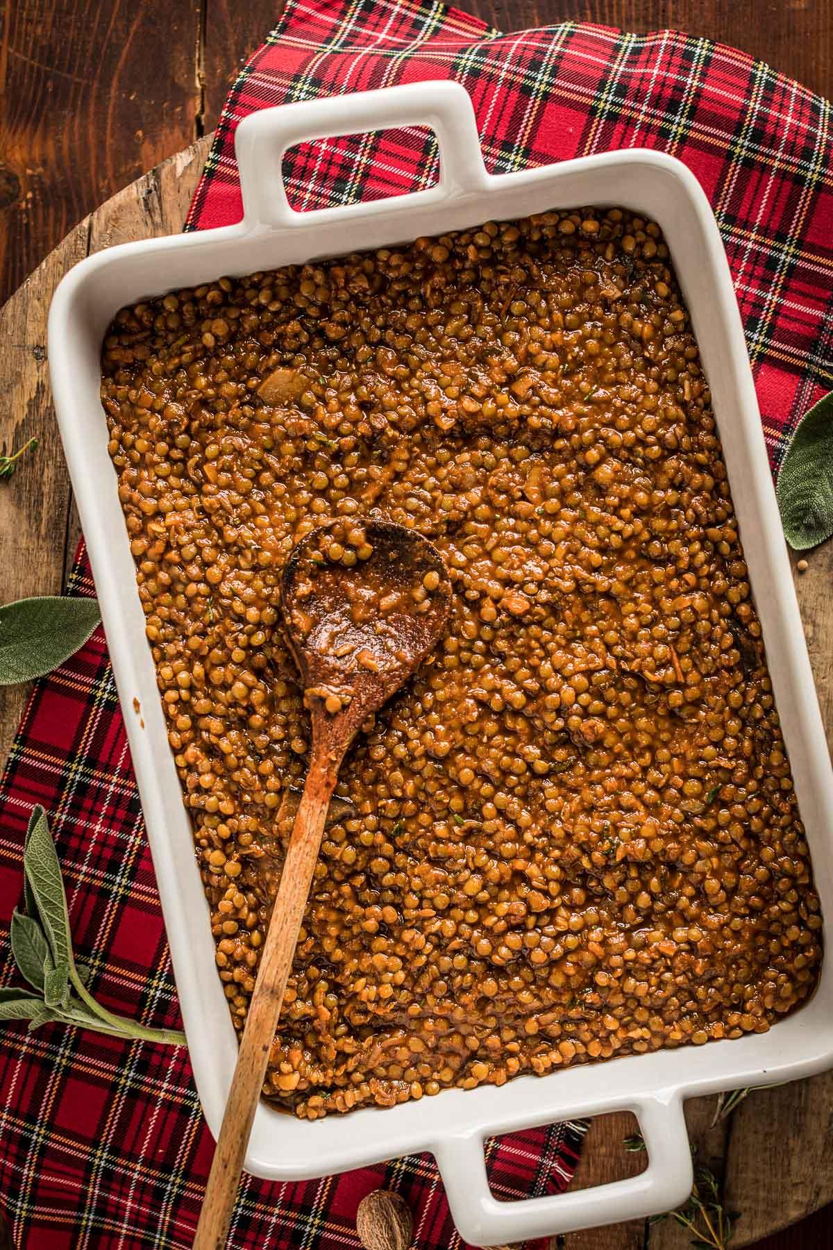 How to make Vegan Lentil Shepherd's Pie healthy cottage pie for Thanksgiving come fare la Shepherd's Pie di lenticchie con ragù di lenticchie funghi e purè di patate