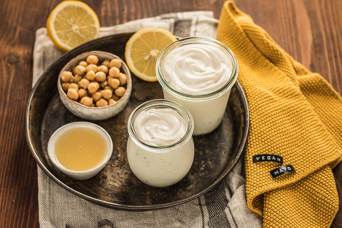 2 minutes easy vegan mayonnaise with aquafaba soy-free mayo recipe ricetta maionese vegana senza uova senza soia cremosa light #veganmayo