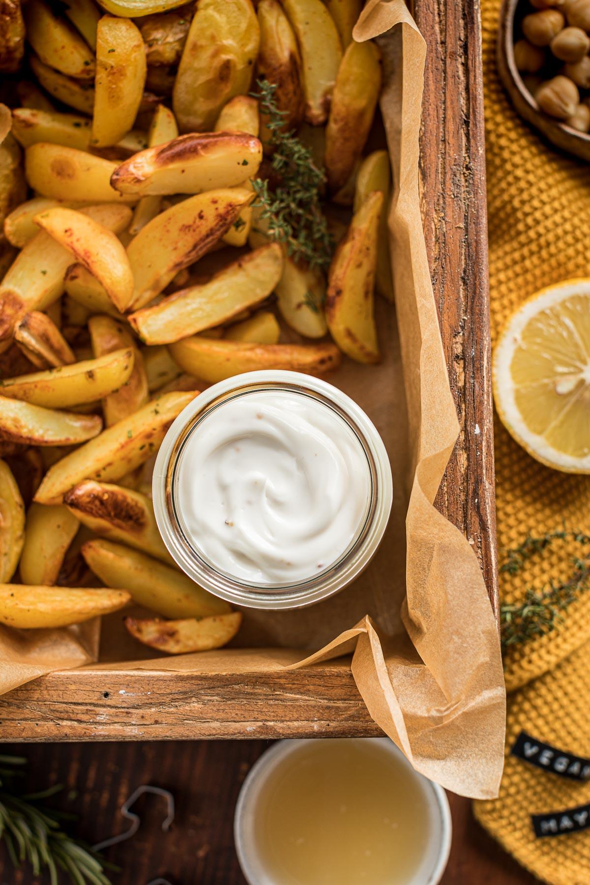 ricetta maionese vegana senza uova con aquafaba senza soia 2 minuti 2 minutes easy vegan mayonnaise recipe with aquafaba soy-free mayo