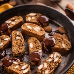 CANTUCCI VEGANI INTEGRALI – Biscotti alle Mandorle Senza Burro   VEGAN ALMOND BISCOTTI Cantuccini