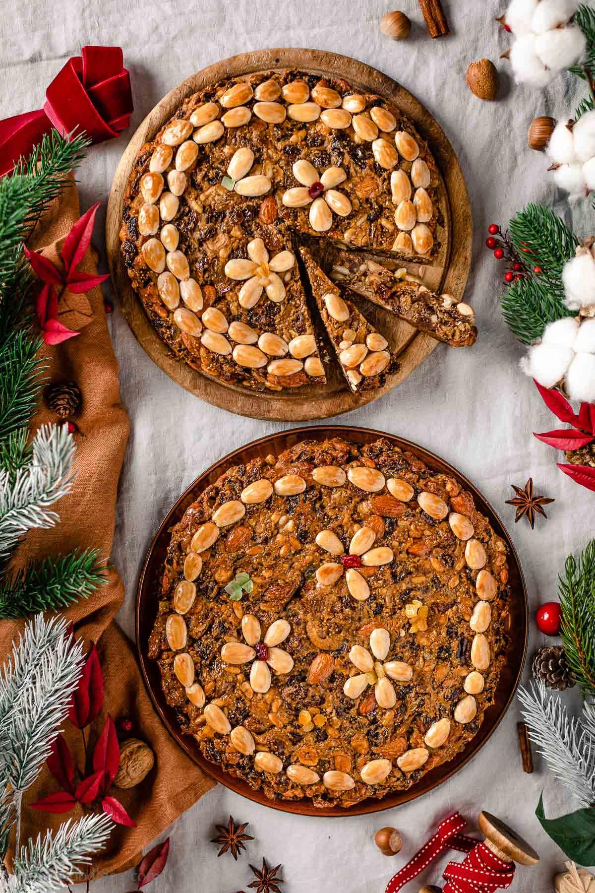 Ricetta Zelten Tirolese Originale Dolce di Natale del SudTirol vegan Christmas
