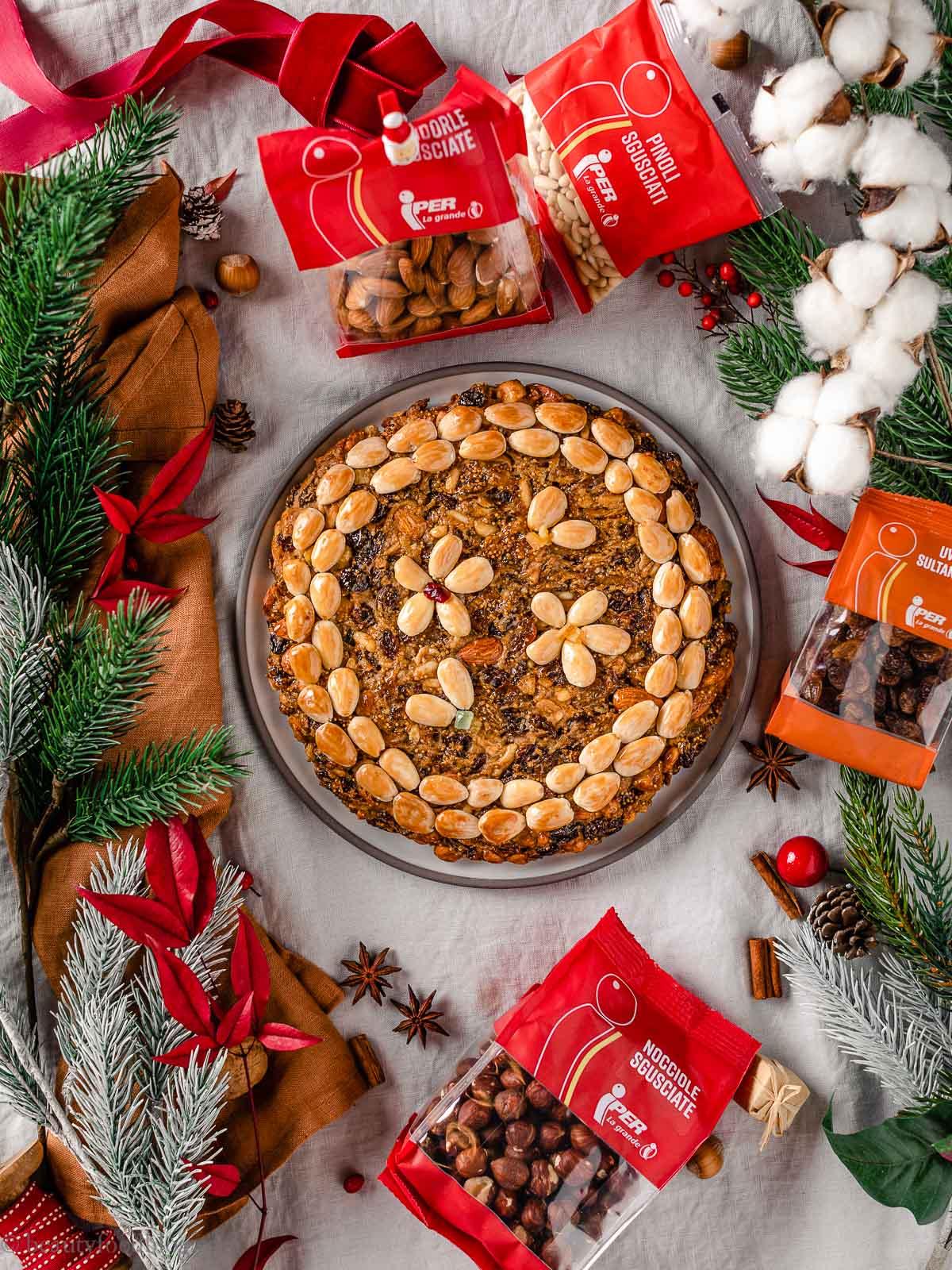 Ricetta Zelten Tirolese Originale Dolce di Natale del SudTirol vegan Iper
