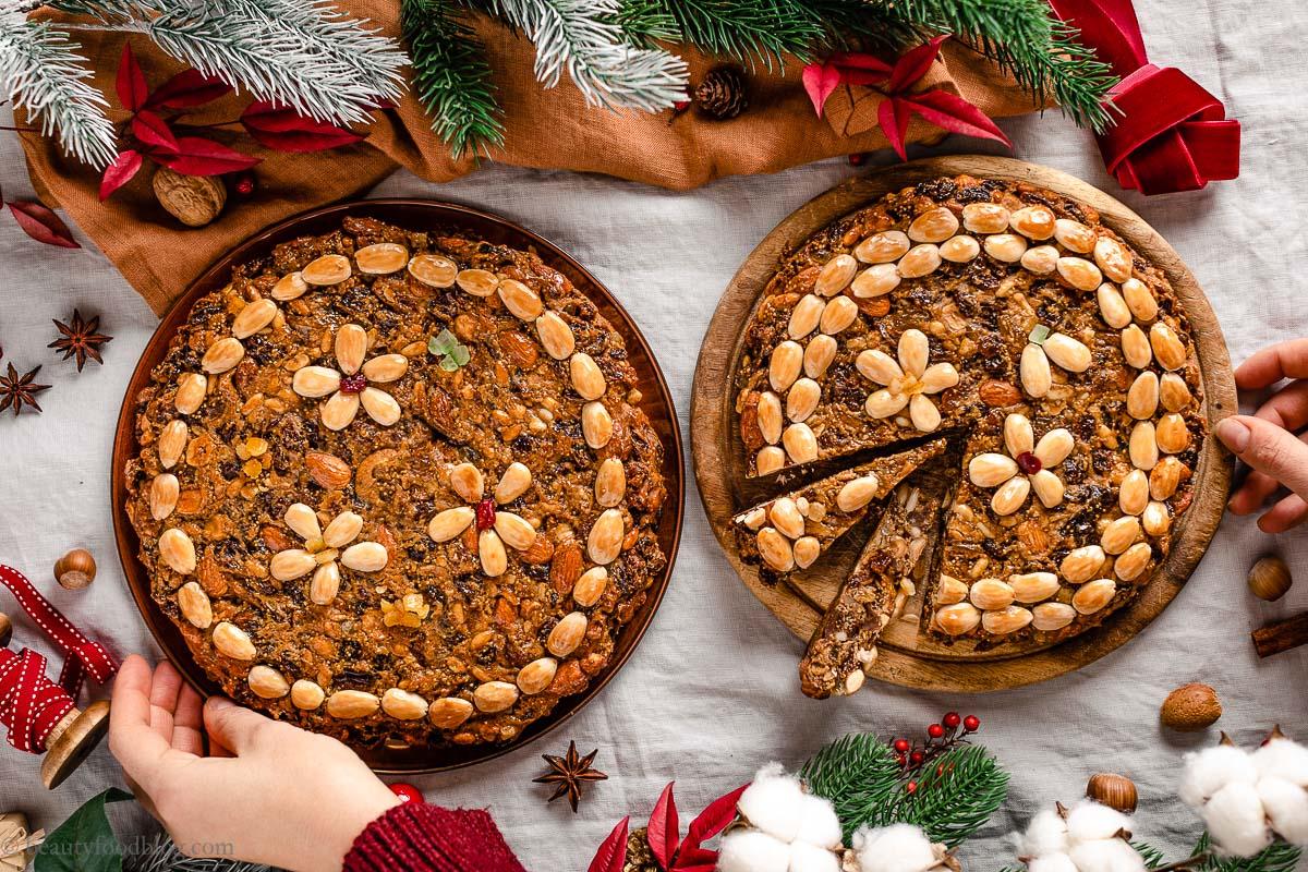 Ricetta Zelten Tirolese Originale Dolci di Natale del SudTirol ricette di Natale Vegan