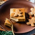 ricetta cremosa cheesecake al pan di zenzero senza cottura senza glutine creamy gluten-free vegan no-bake gingerbread cheesecake recipe