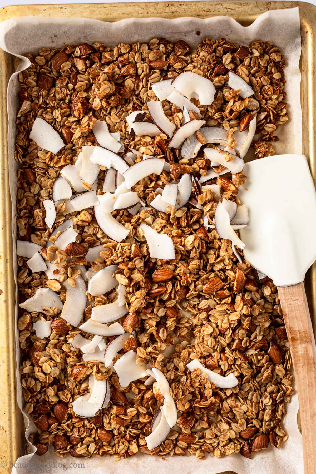 come fare la granola fatta in casa granola croccante cocco e fragole how to make vegan homemade strawberry coconut granola